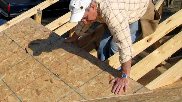 Sheathing benefits extend beyond your roof for Roof sheathing material