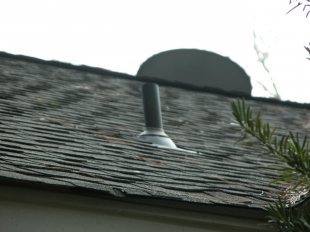 Vent pipe flashing