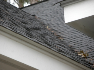Flashing used in roof valleys