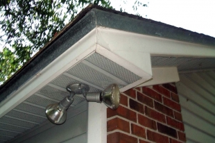Certified Roof Inspection includes a  home's soffit